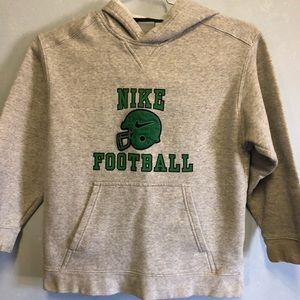 Boys Nike Football Hoodie - Size Medium (10-12)